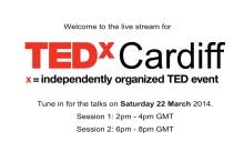TEDxCardiff LiveStream